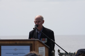 10 Richard Jones speaks At Sea Service