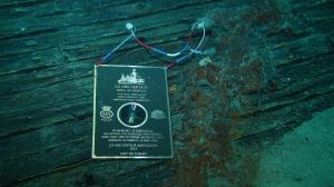 Centaur Plaque underwater