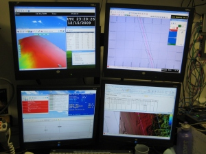 computer images from ROV