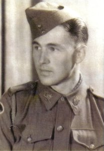 Pte George McGrath, FA, survivor